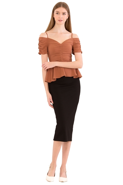Picture of Dharlieh Top (Brown)