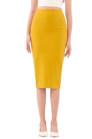 Picture of Droviolyn Skirt (Olive Yellow)