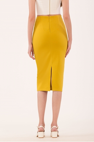 Show details for Droviolyn Skirt (Olive Yellow)