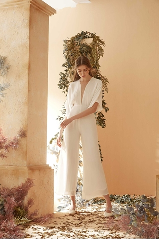 Show details for Dewulif Jumpsuit (White)