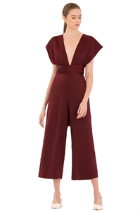 Picture of Derlorie Jumpsuit (Ox Blood)
