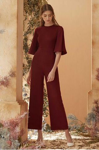 Picture of Diffaniqa Jumpsuit (Burgundy)