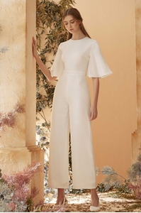 Picture of Diffaniqa Jumpsuit (White)