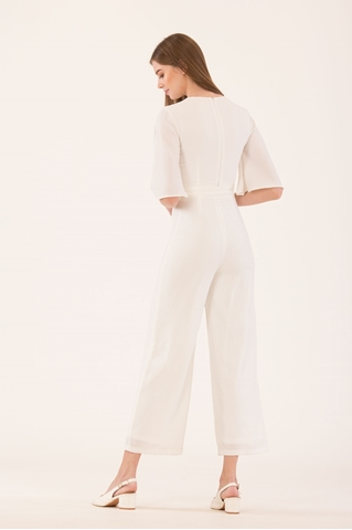 Show details for Diffaniqa Jumpsuit (White)