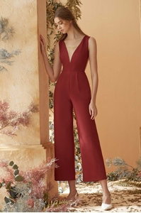 Picture of Diolerio Jumpsuit (Dull Red)