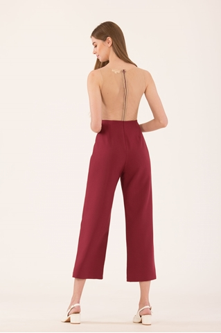 Show details for Diolerio Jumpsuit (Dull Red)