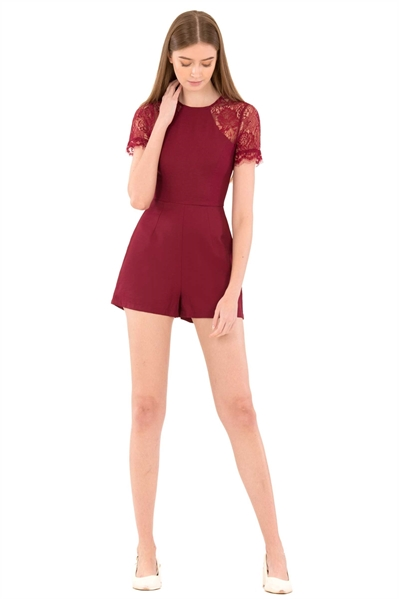 Picture of Dofuvisto Romper (Red)