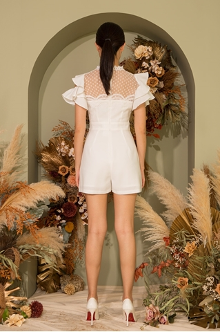 Show details for Dyjuhuey Romper (White)