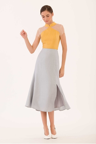Show details for Duchunjiu Skirt (Pale Blue)