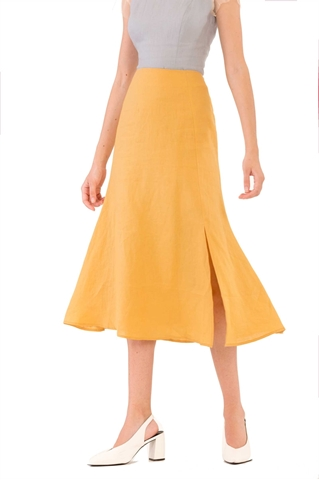 Show details for Duchunjiu Skirt (Yellow)