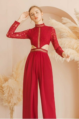 Picture of Dimihanxu Jumpsuit (Red)