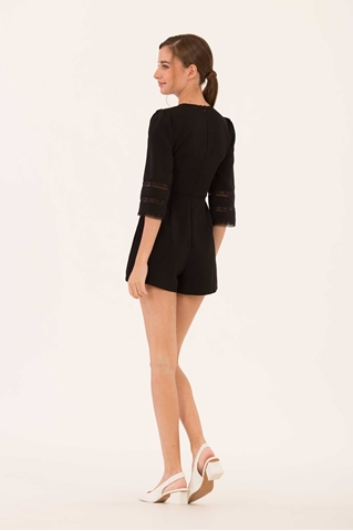 Show details for Danines Romper (Black)