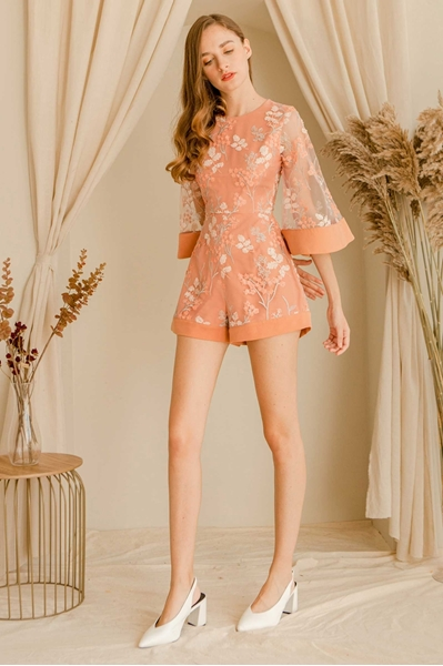 Picture of Dajoey Romper (Peach Nude)