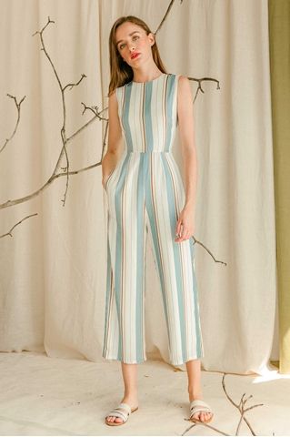 Picture of Damiera Jumpsuits (Powder Blue)