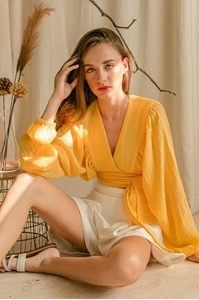 Picture of Doceyla Top (Yellow)