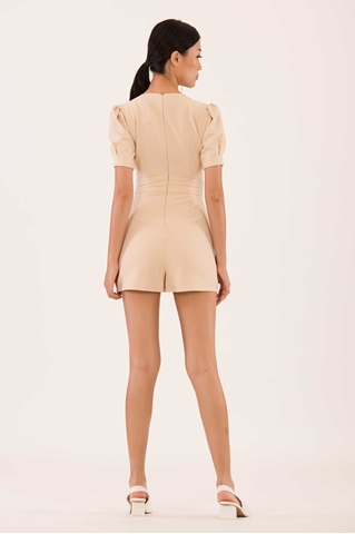 Show details for Duciana Romper (Beige)