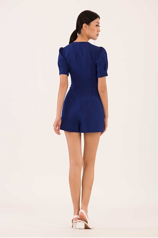Show details for Duciana Romper (Blue)