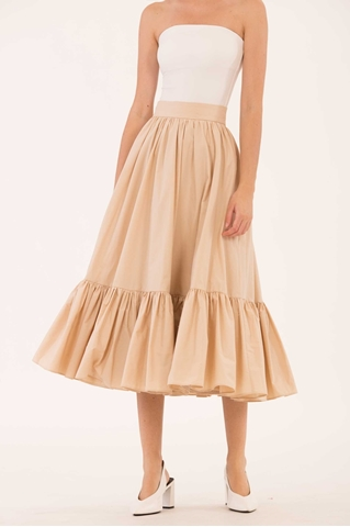 Show details for Dalhfid Skirt (Beige)