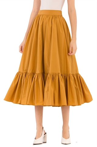 Show details for Dalhfid Skirt (Mustard)