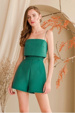 Picture of Dokie Romper (Green)