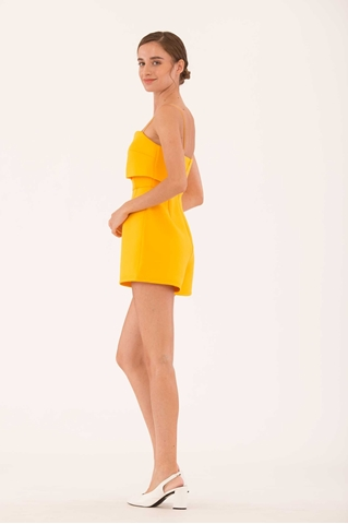 Show details for Dokie Romper (Sunflower Yellow)