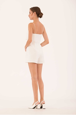 Show details for Dokie Romper (White)