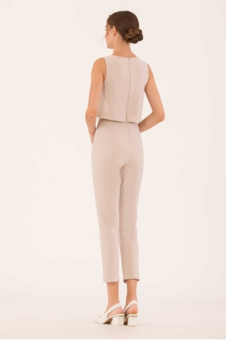 Show details for Dirvu Jumpsuit (Light Sand)