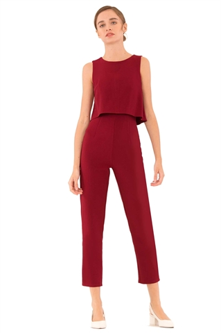 Picture of Dirvu Jumpsuit (Maroon)