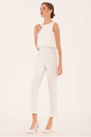 Show details for Dirvu Jumpsuit (White)