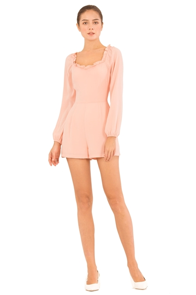 Picture of Damizoey Romper (Peach)