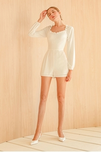 Picture of Damizoey Romper (White)