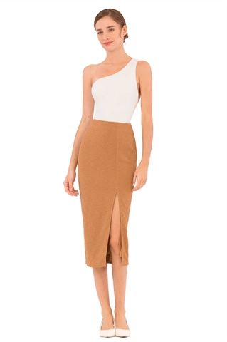 Show details for Datifis Skirt (Brown)