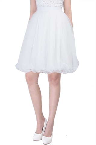 Show details for Dherlyn Skirt (White)