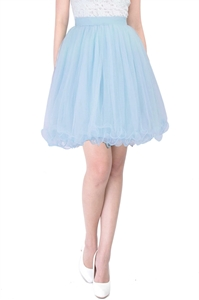 Picture of Dherlyn Skirt (Powder Blue)