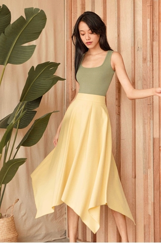 Picture of Dihorio Skirt (Yellow)