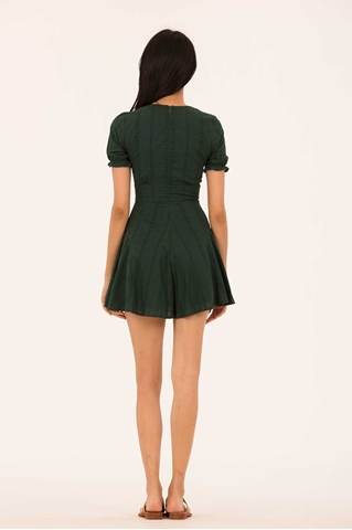 Show details for Domizera Romper (Dark Green)