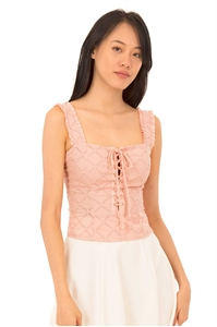 Picture of Dinulliow Top (Pale Pink)