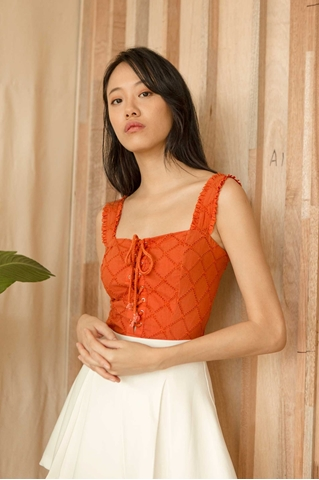 Picture of Dinulliow Top (Rust Orange)