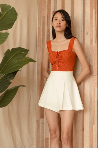 Show details for Dinulliow Top (Rust Orange)