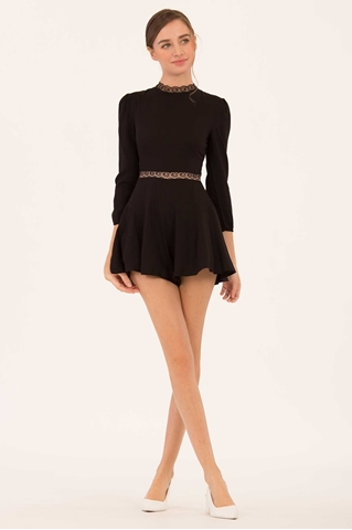 Show details for Daruty Romper (Black)