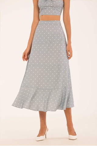 Show details for Dokarut Skirt (Pale Blue)