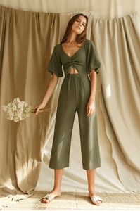 Picture of Danixey Jumpsuit (Army Green)