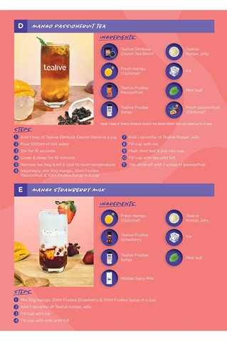 Show details for TEALIVE: MY FRUITEA KIT