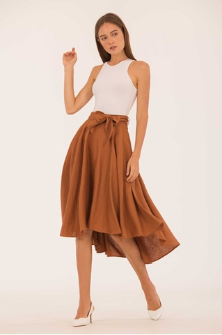 Show details for Ducerjis Skirt (Brown)