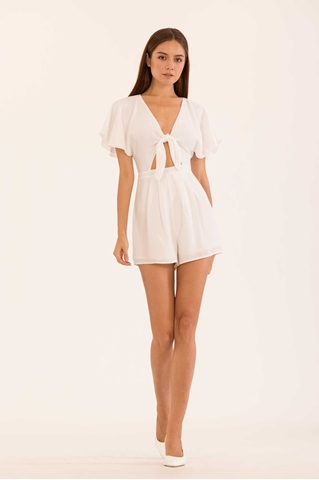 Show details for Dioniz Romper (White)