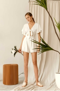 Picture of Dioniz Romper (White)