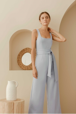 Show details for Dionoc Jumpsuit (Pale Blue)