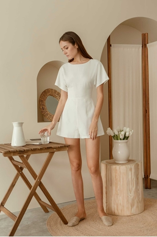 Picture of Domurea Romper (White)