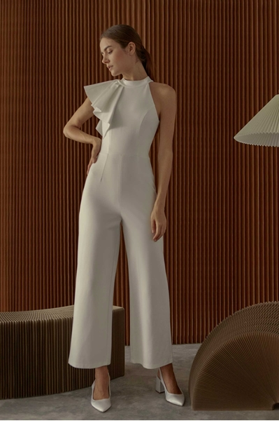 Picture of Dekise Jumpsuit (White)