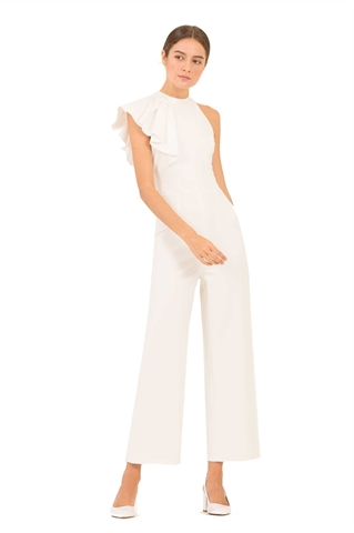 Show details for Dekise Jumpsuit (White)